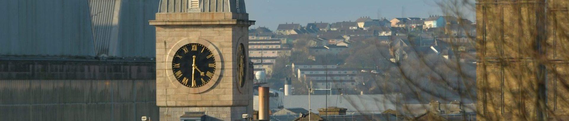 Albert Road Gate Clock Tower